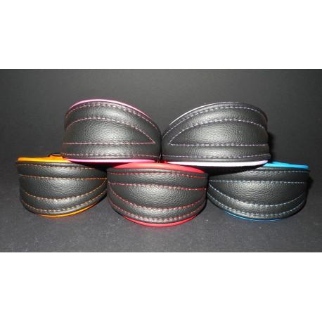 Soft Leather Collar 32 - 38 cm