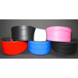Simple Leather Collar 22 - 24 cm